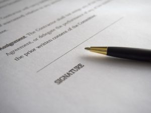 Wzór podpisu członka zarządu